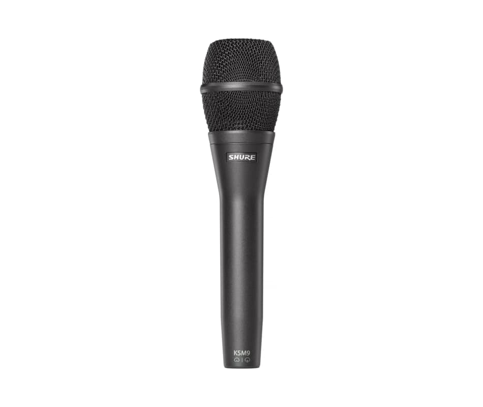 KSM9 CG Charcoal Black Handheld Vocal Microphone