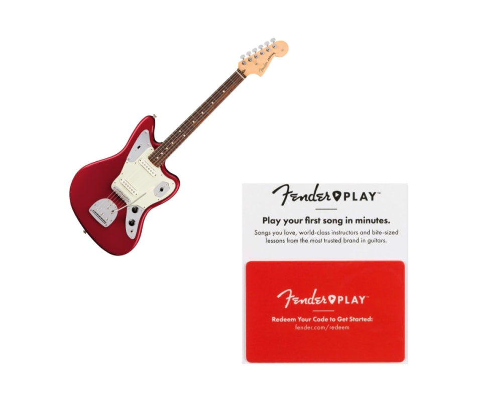 Fender American Pro Jaguar Rosewood FB Candy Apple