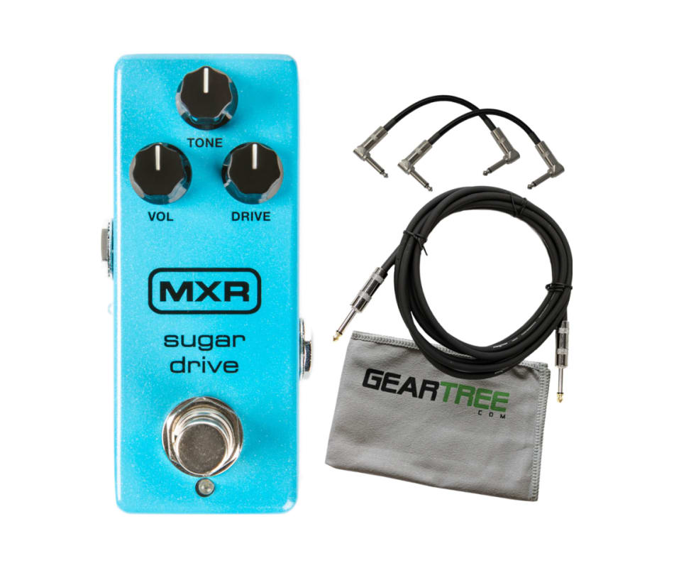 MXR M294 Sugar Drive Overdrive (w/Power Supply) Pe