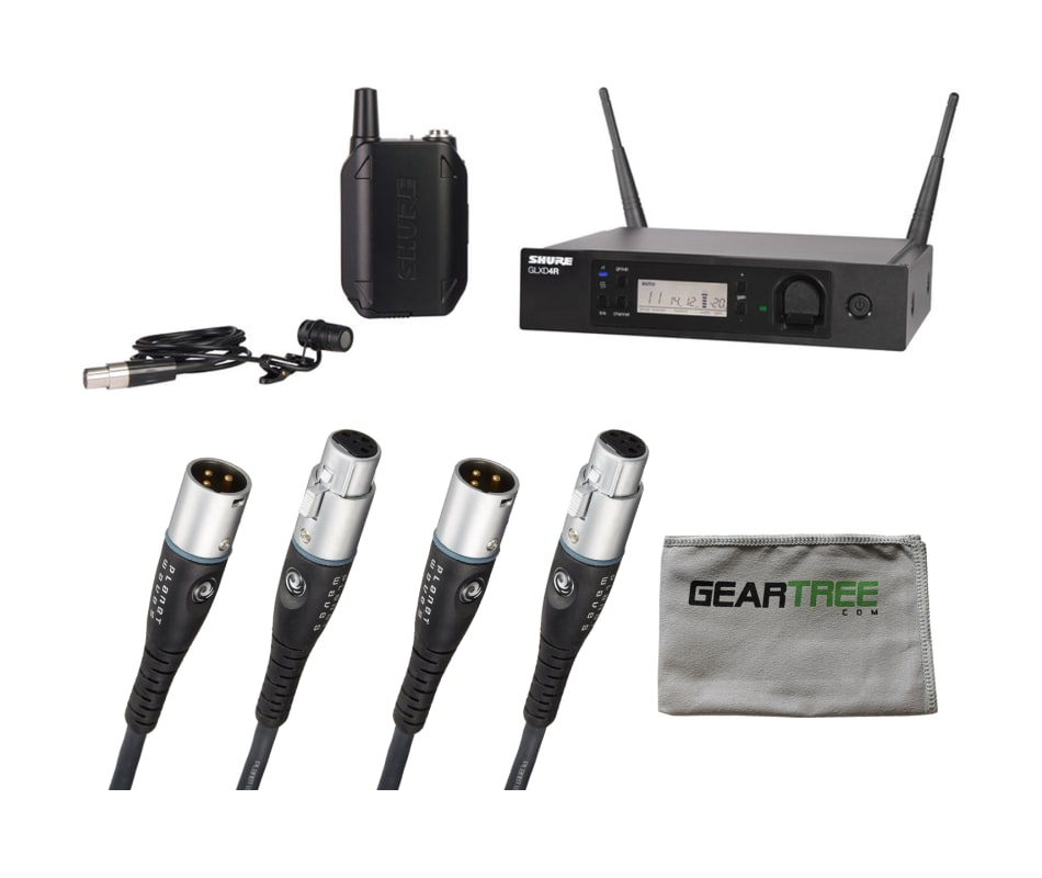 GLXD14R/85 Lavalier Wireless System Bundle