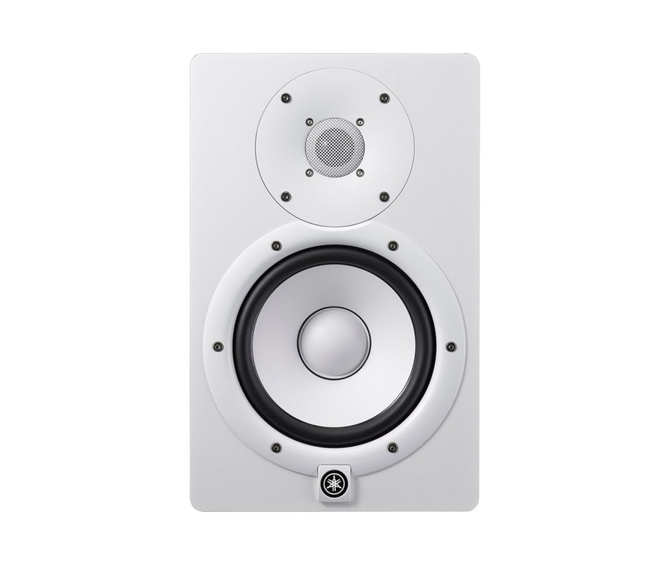 Yamaha HS7 White Active Studio Monitor with 6.5