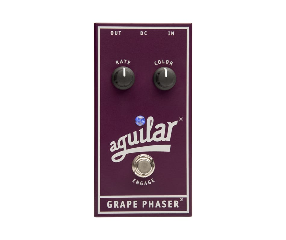Aguilar Grape Phaser Bass Phaser Effect Pedal