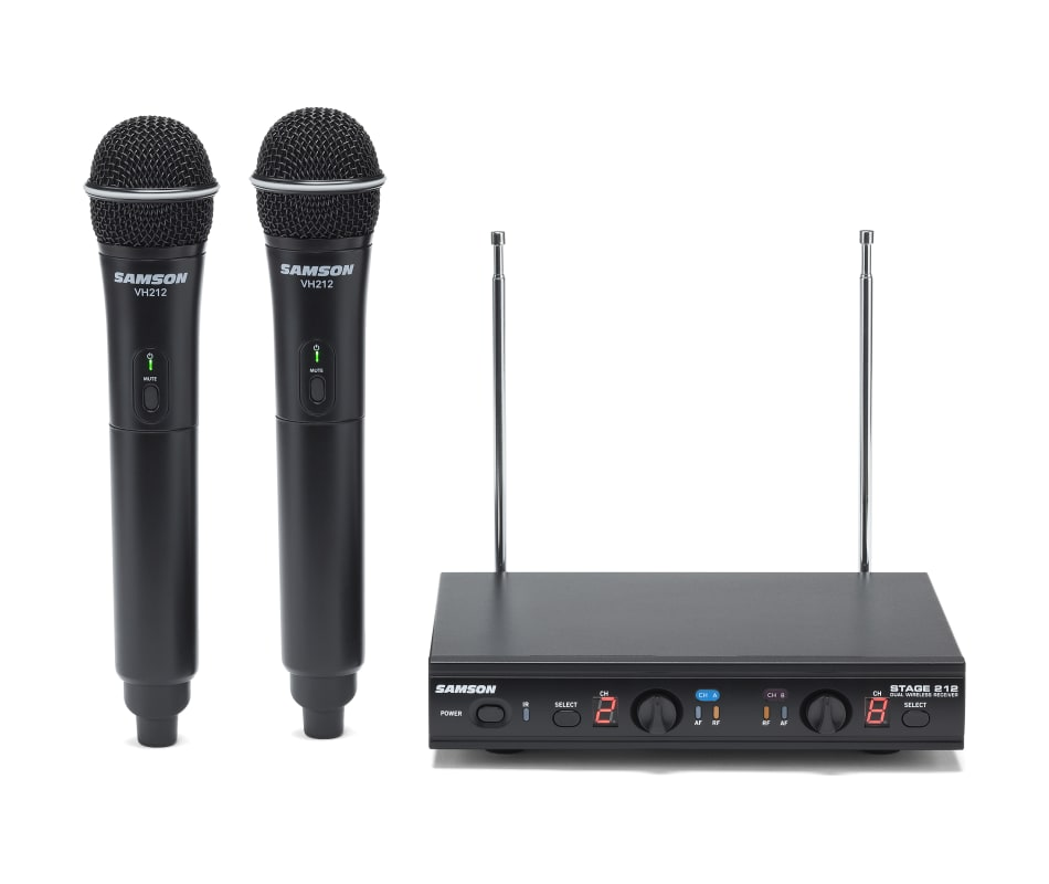 Stage 212 Dual-Channel Handheld Wireless System