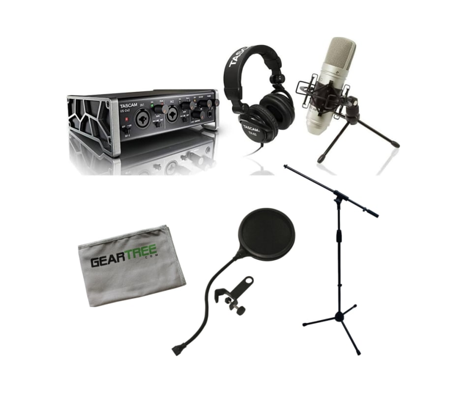 Trackpack 2x2 Complete Recording Interface Bundle