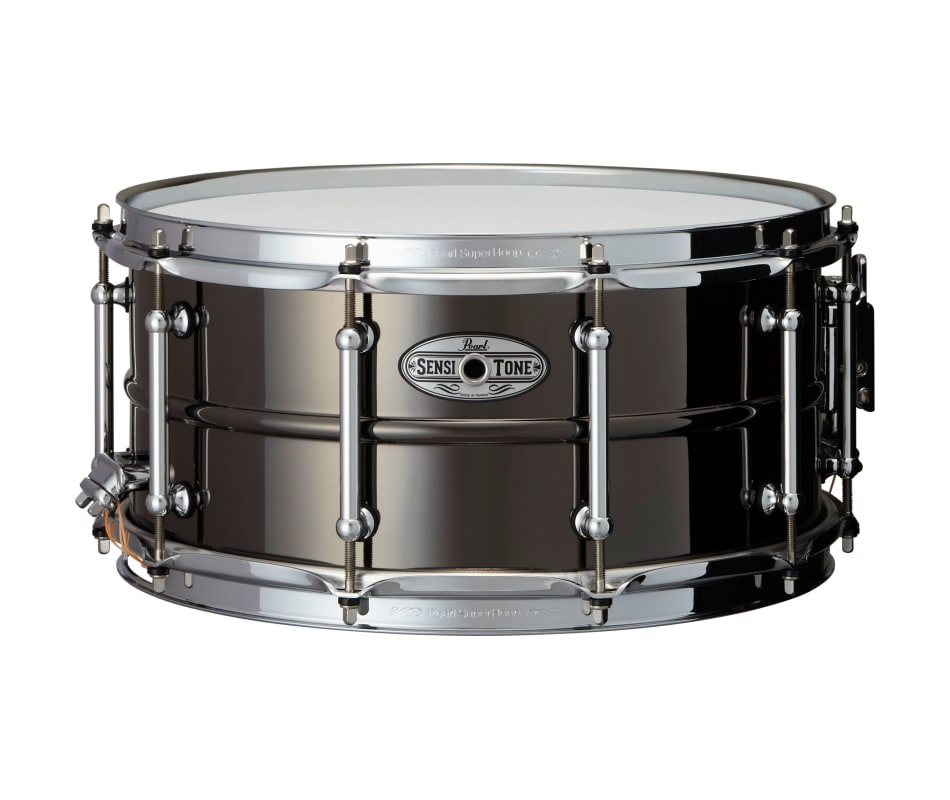 Pearl Sensitone Black Nickel Brass 14'' x 6.5'' Sn