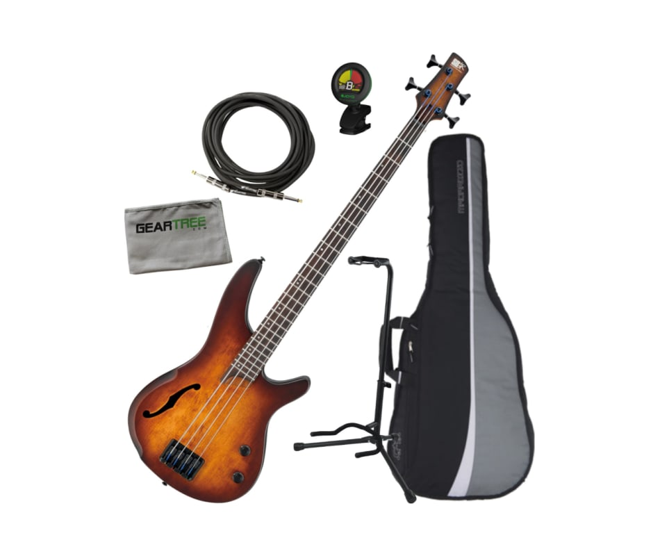 SRH500 DEF SR Bass Workshop 4-String Bass Bundle