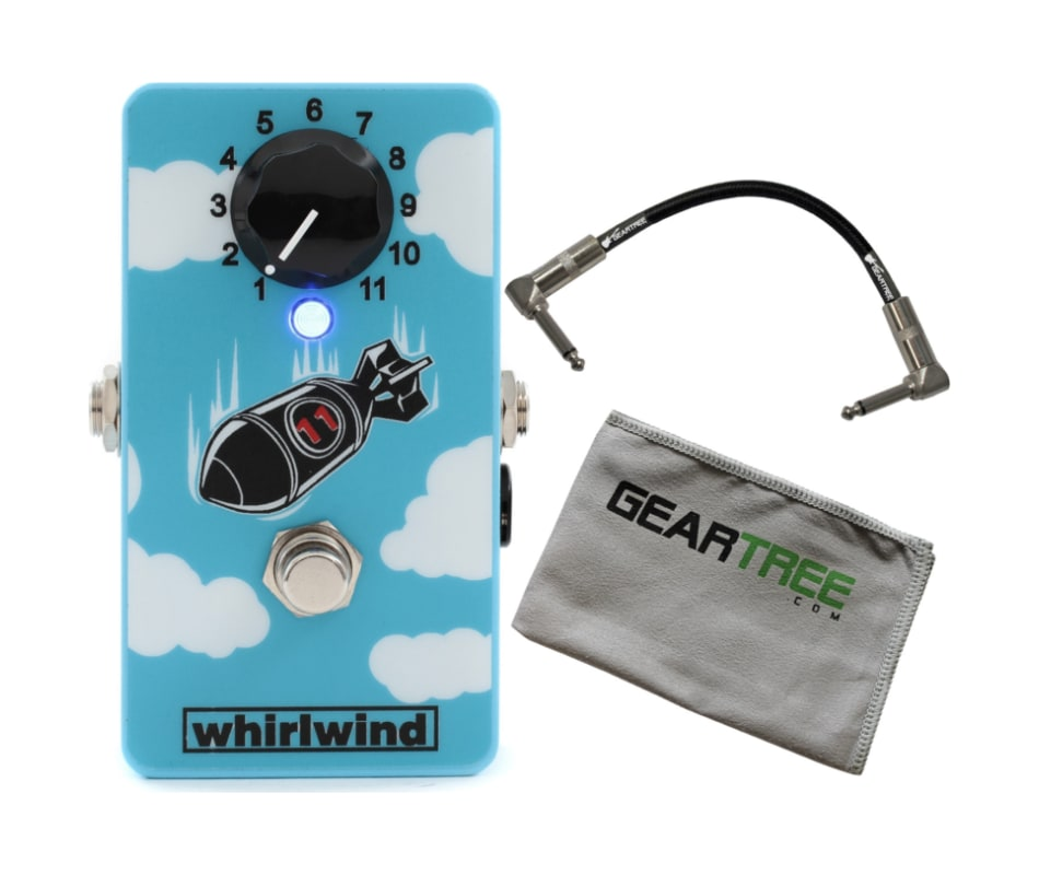 FXBOMBP The Bomb Boost Effect Pedal Bundle