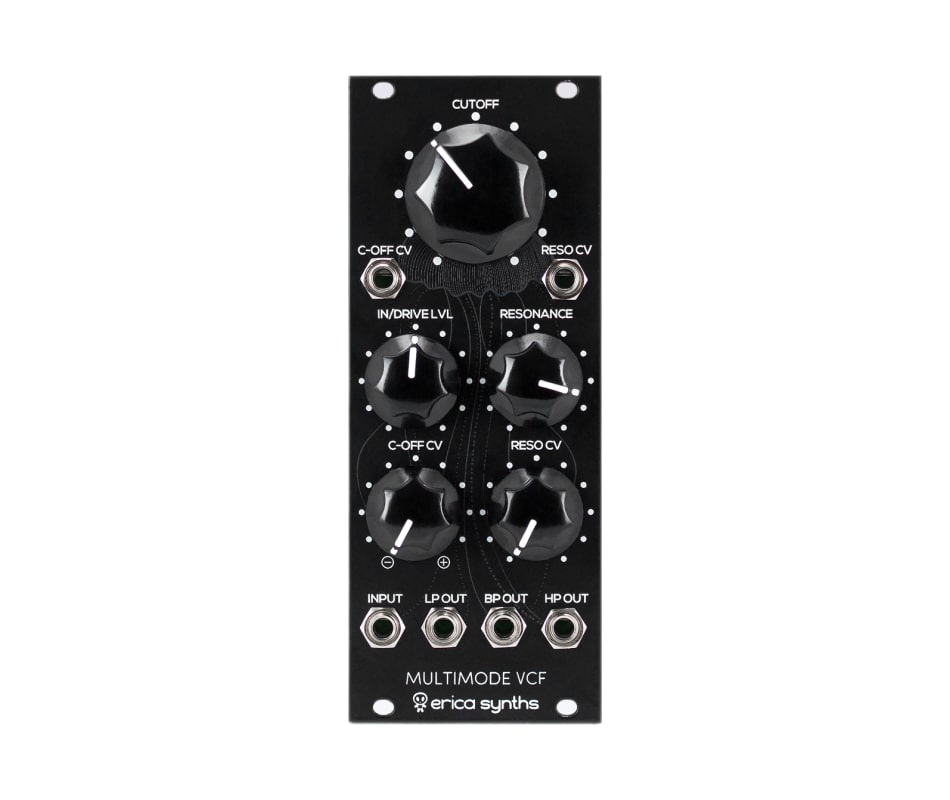 Erica Black Multimode VCF Eurorack Synth Module