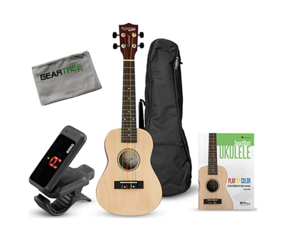 Tanglewood TU101NAK Ukulele Learn to Play Bundle w