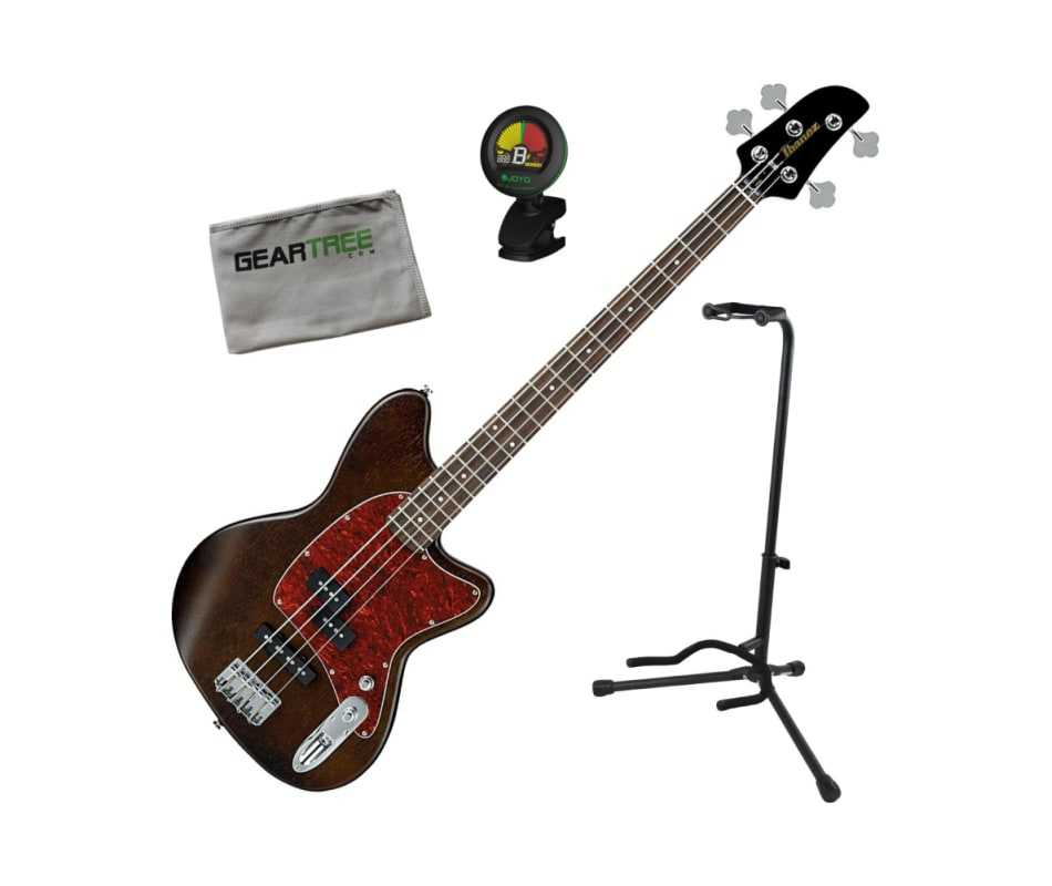 Talman TMB100 WNF 4-String Bass Guitar Bundle