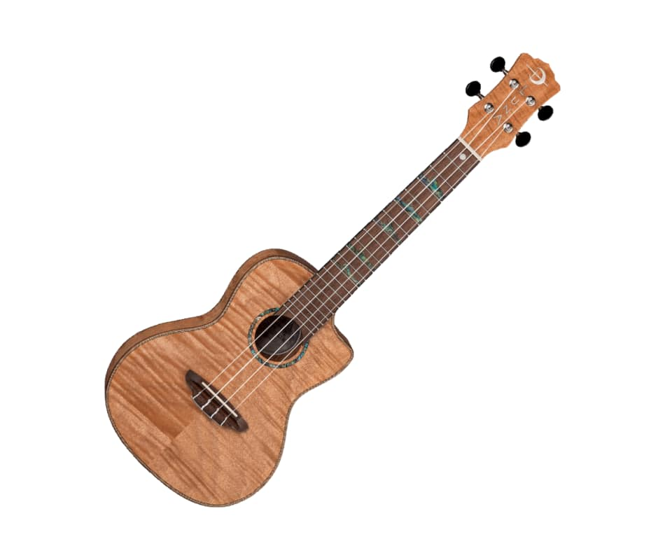 Uke High Tide Exotic Mahogany Ukulele w/Bag