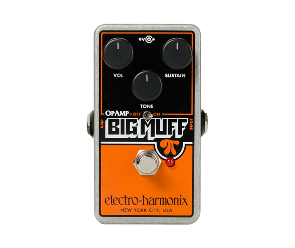 Op-Amp Big Muff Pi Distortion Pedal