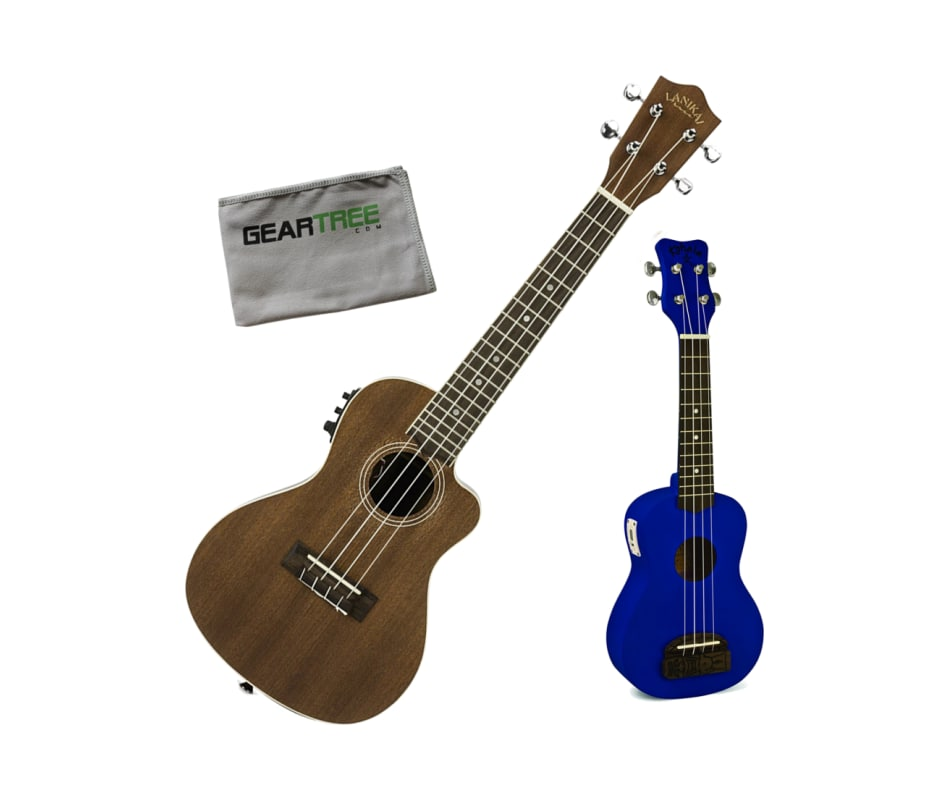 Lanikai MA-CEC Mahogany CW Acoustic-Electric Conce