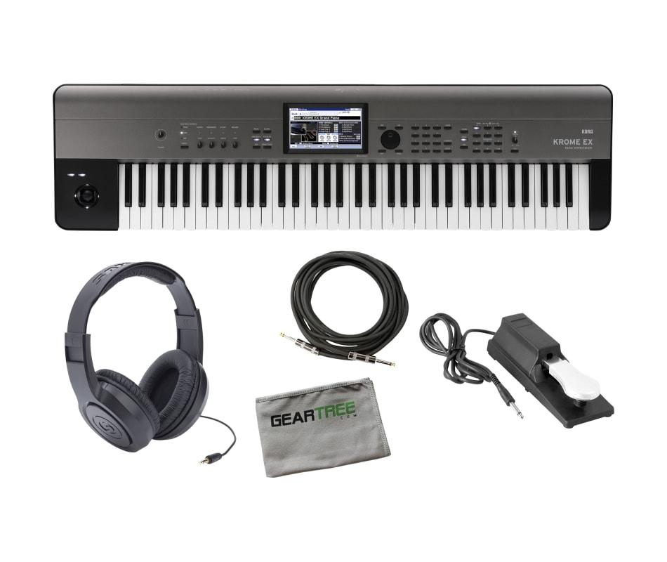 Korg KROMEEX73 Krome Music Workstation w/ Sustain