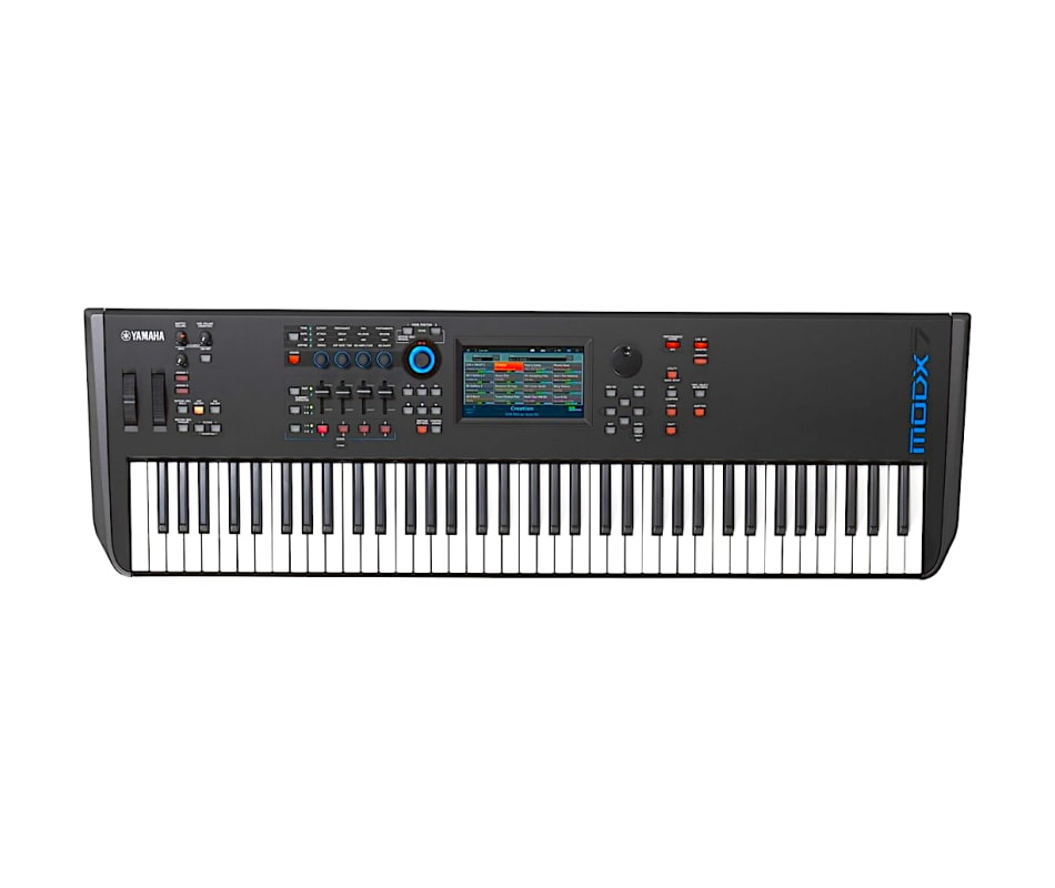 Yamaha MODX7 76-Key Semi-Weighted Synthesizer Keyb