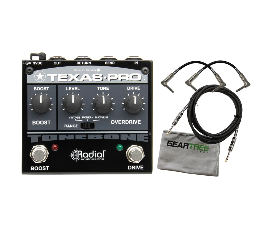 R800 7027 Texas-Pro Overdrive/Boost Pedal Bundle
