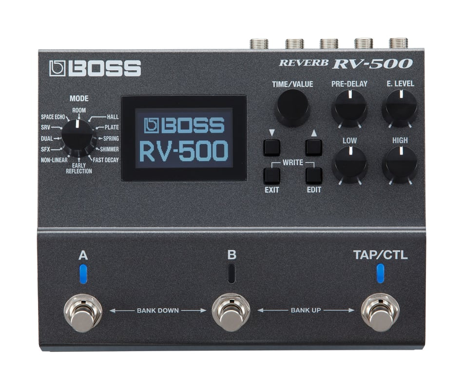 RV-500 Digital Reverb Processor Effect Pedal