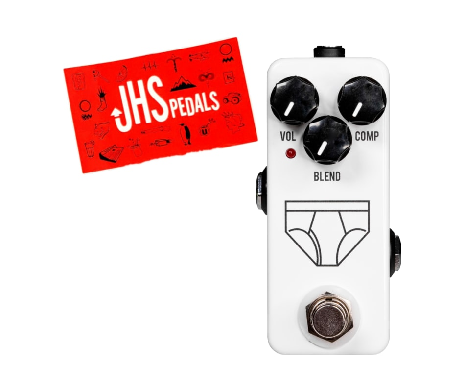 JHS Whitey Tighty Mini Compressor Effects Pedal w/