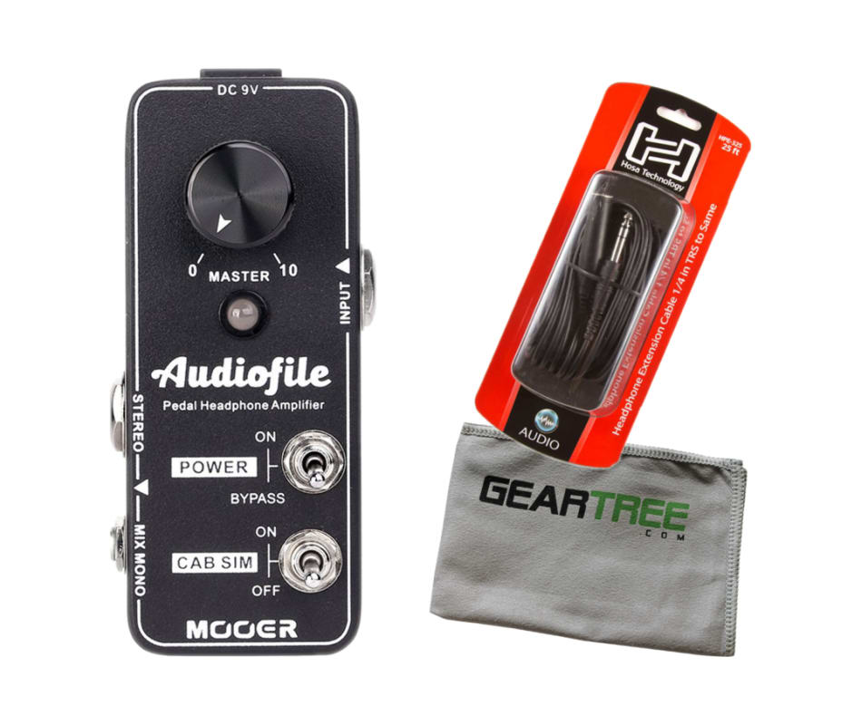 Mooer Audiofile Pedal-Style Headphone Amplifier w/