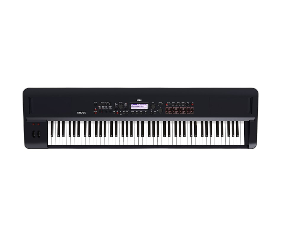 KROSS 2 88-Key Synthesizer Keyboard - Dark Blue