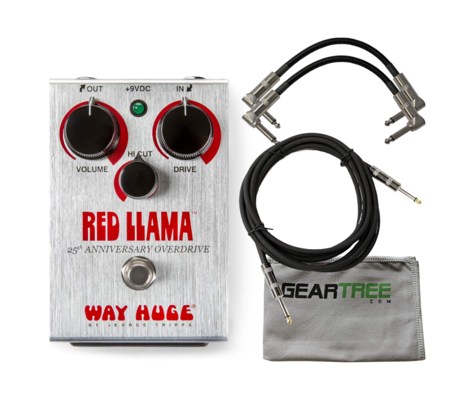 WHE206 25th Anniversary Red Llama Overdrive Bundle