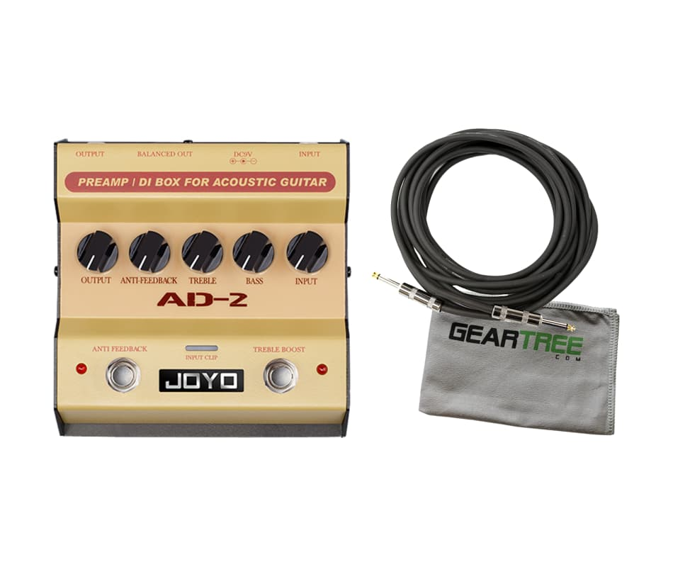Joyo AD-2 Acoustic Guitar Preamp and DI Box Pedal