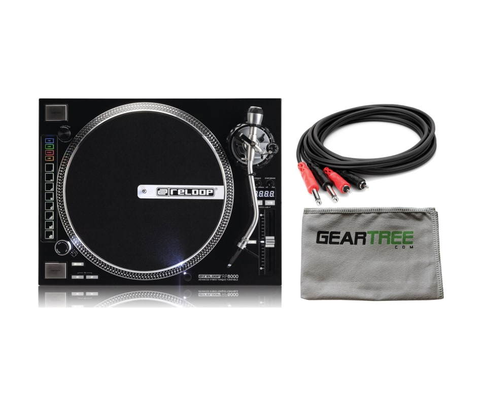 RP-8000 Advanced Hybrid-Torque Turntable Bundle