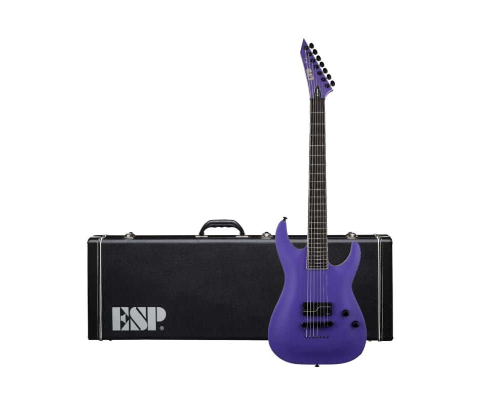 ESP LTD SC607B1H Baritone Electric Guitar (Purple