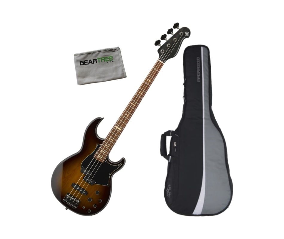 BB734A DCS 4-String Electric Bass Guitar Bundle
