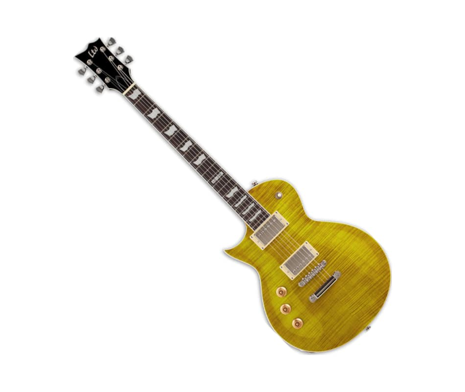 EC-256FM Left Handed Electric Guitar Lemon Drop