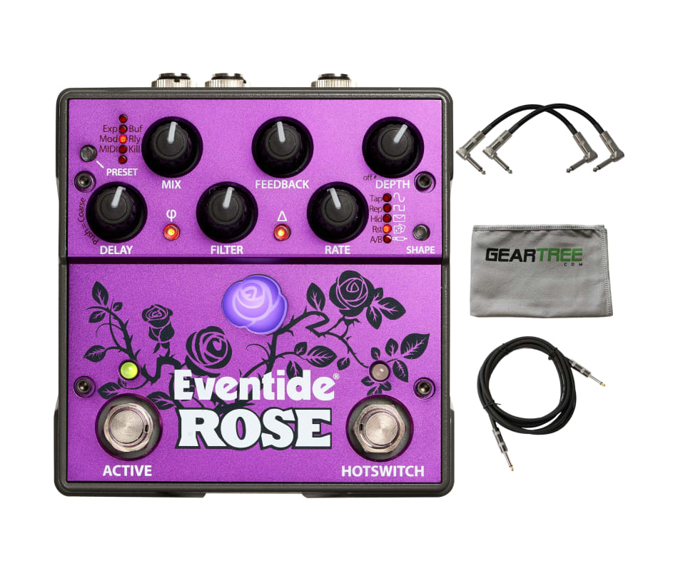 Eventide Rose Modulated Digital Delay Pedal w/ Pol