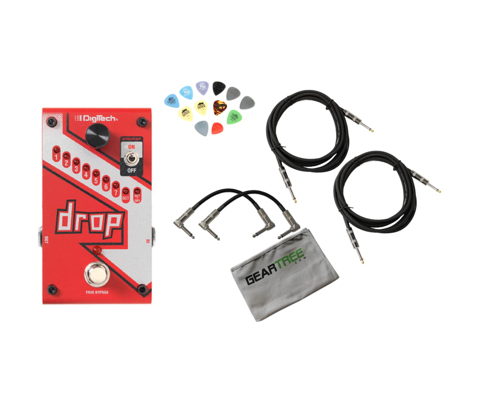 Digitech DROP Compact Polyphonic Drop Tune Pitch-S