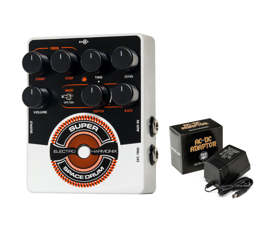 Super Space Drum Analog Drum Synth Pedal