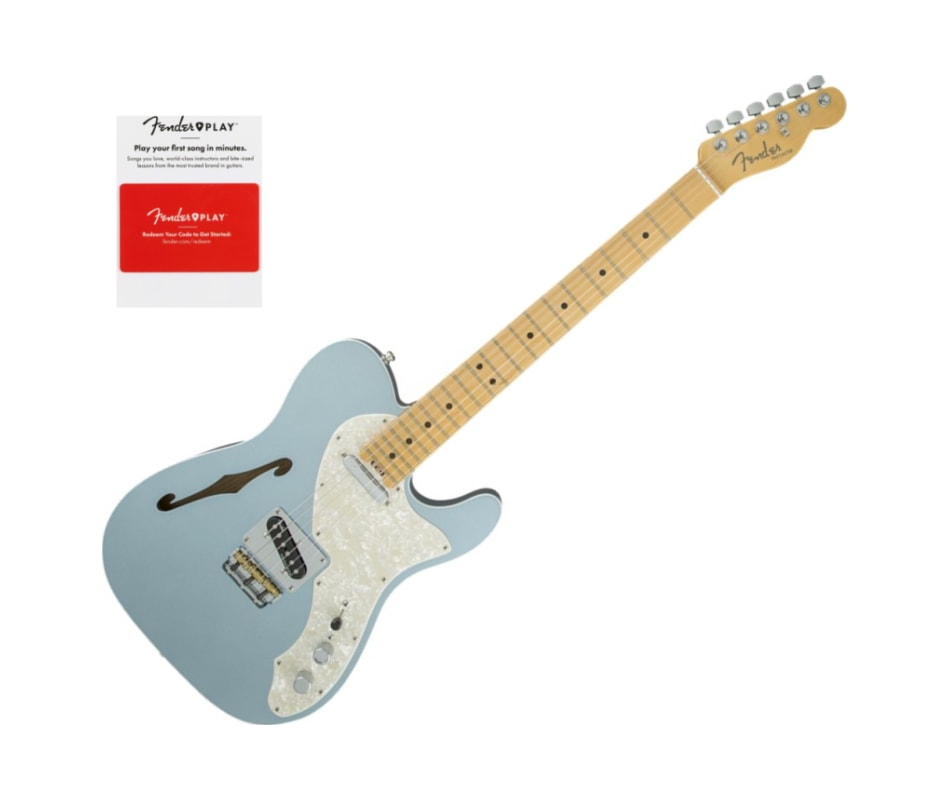 Fender American Eilte Telecaster Thinline, Maple F