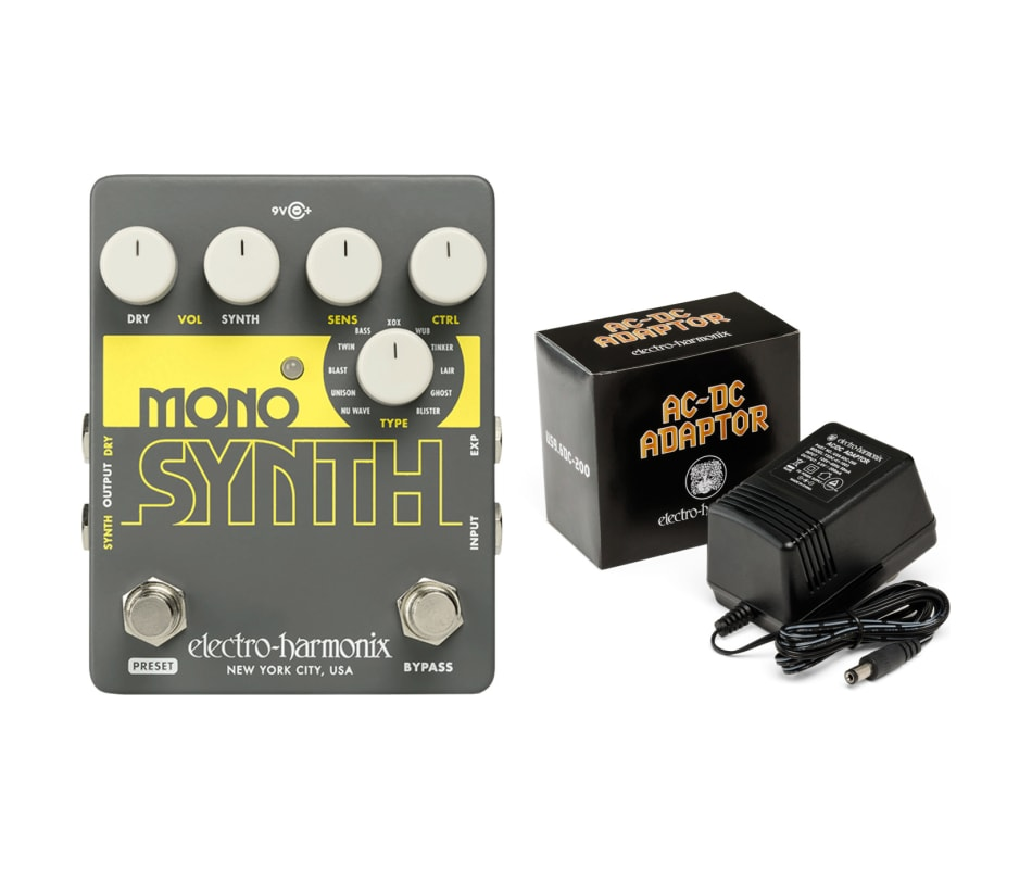 Electro Harmonix Guitar Mono Synth Effects Pedal w