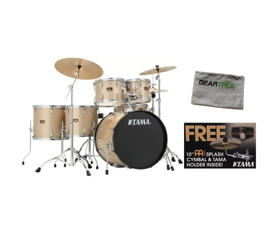Imperialstar IP62N 6pc Drum Shell Pack CCHM Bundle