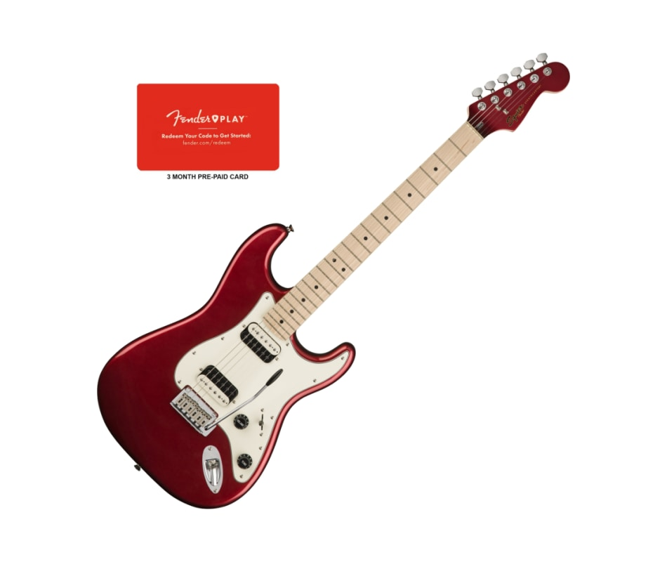 Squier Contemporary Stratocaster MPL Dark Red FB H