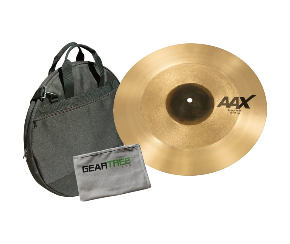 Sabian 216XFC 16'' AAX Crash Cymbal w/ Geartree Cl