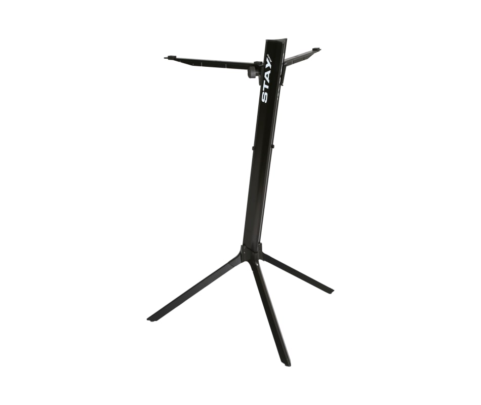 STAY55 Tower 46 Single Tier Keyboard Stand Black