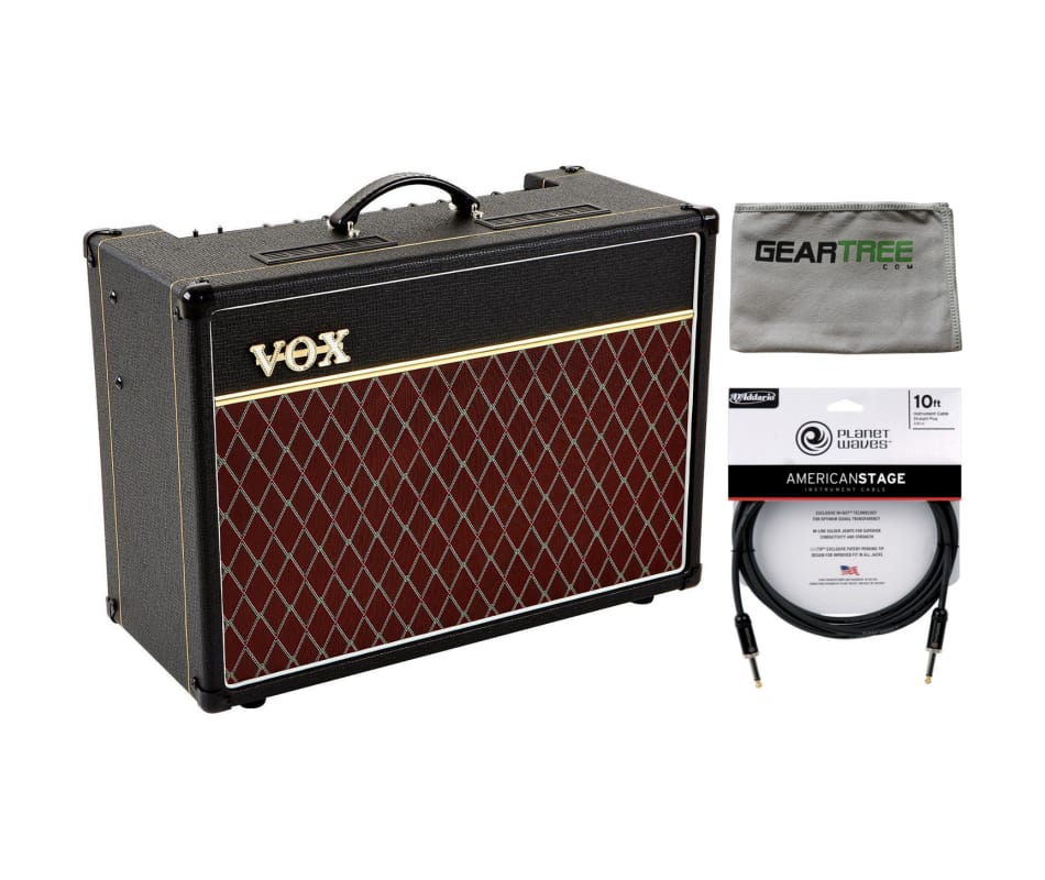AC15C1X Custom Series Guitar Amplifier Bundle