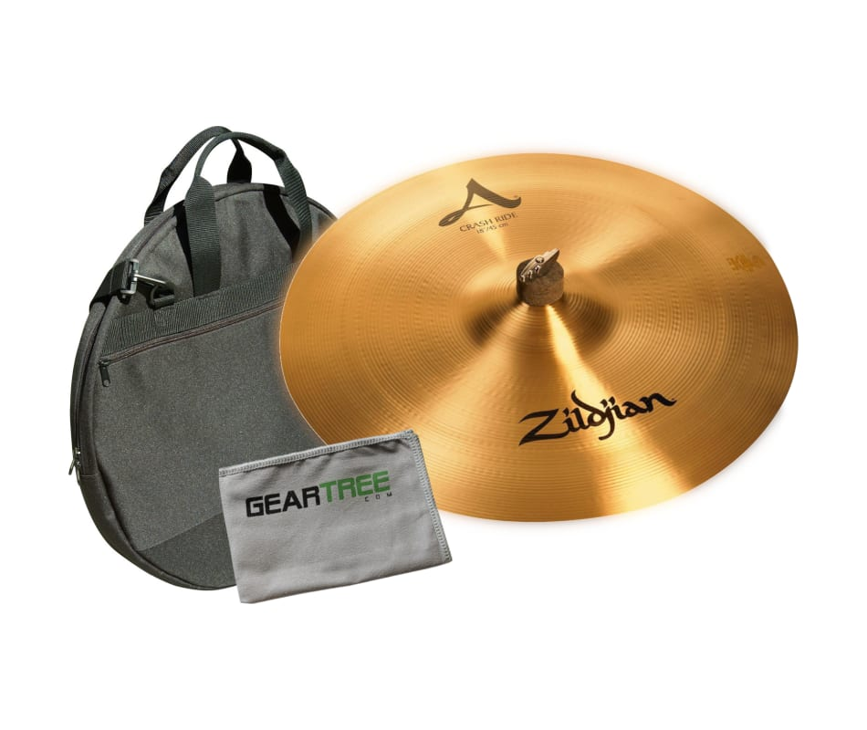 zildjian a0022 a series 18 39 39 crash ride cymbal w geartree cloth and cymbal bag. Black Bedroom Furniture Sets. Home Design Ideas