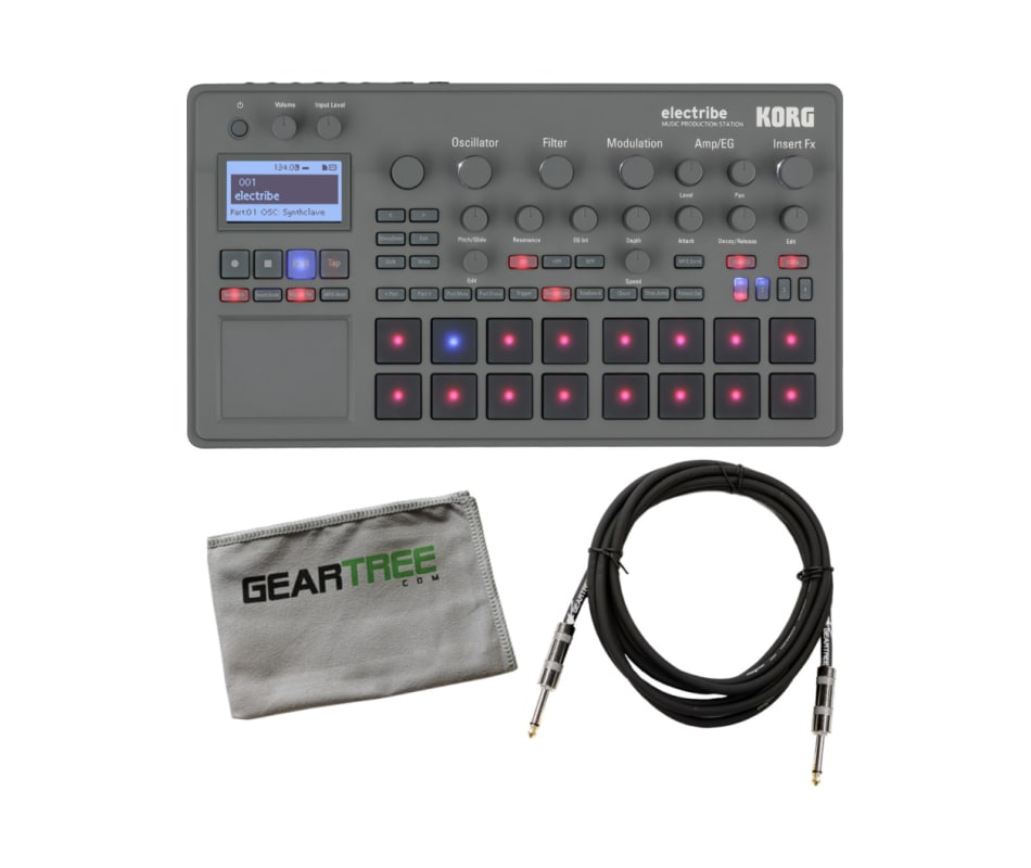 Electribe Music Production Station (Gray) Bundle