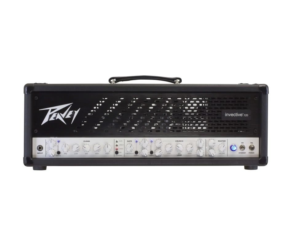 Invective .120 Electric Tube 120w Amplifier Head
