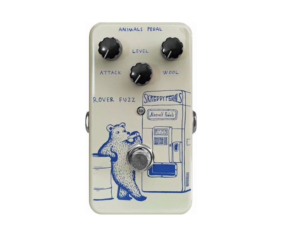 Animals Rover Fuzz Tone Bender-inspired Fuzz Ped