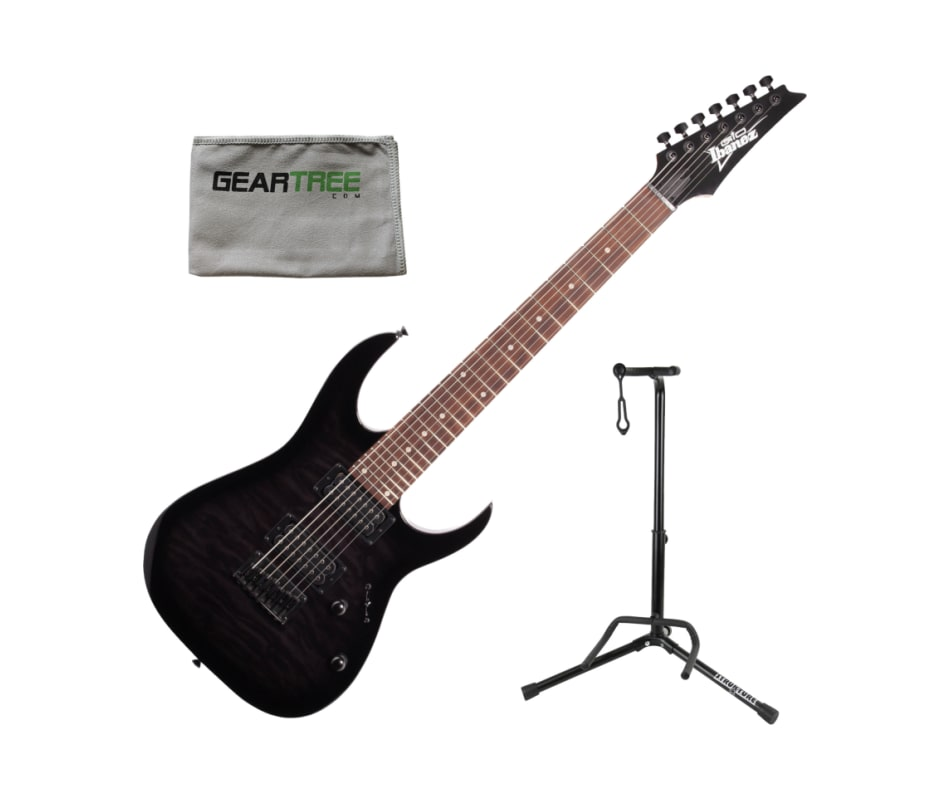Ibanez GRG7221QATKS GIO RG 7-String Electric Guita