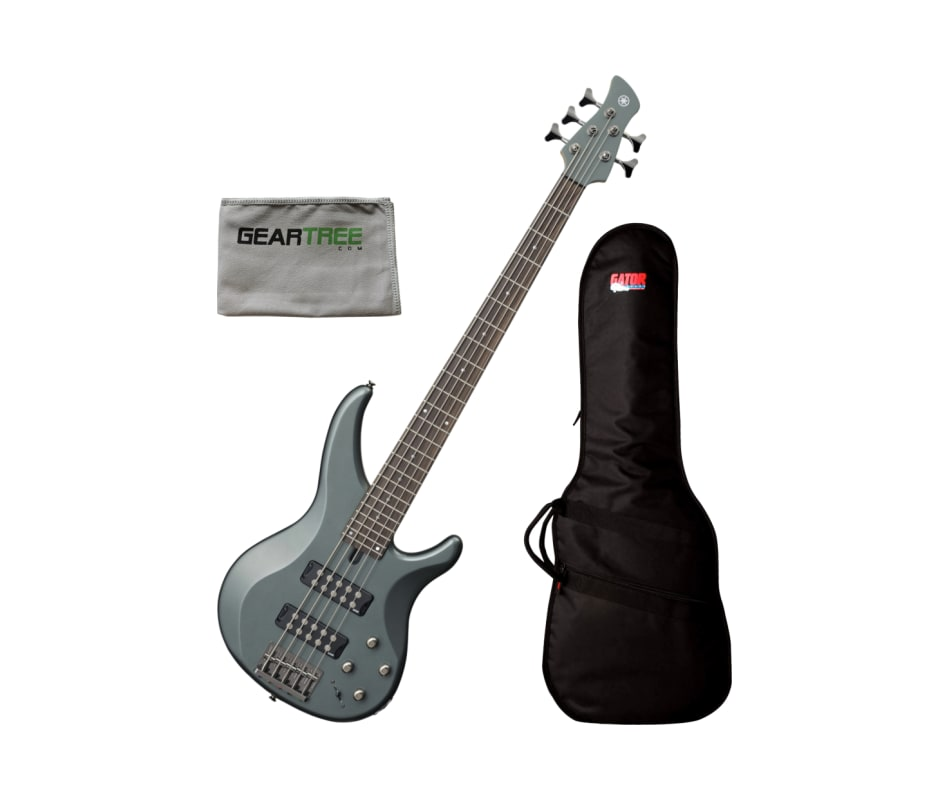Yamaha TRBX305 MGR Mist Green 5-String Bass Guitar