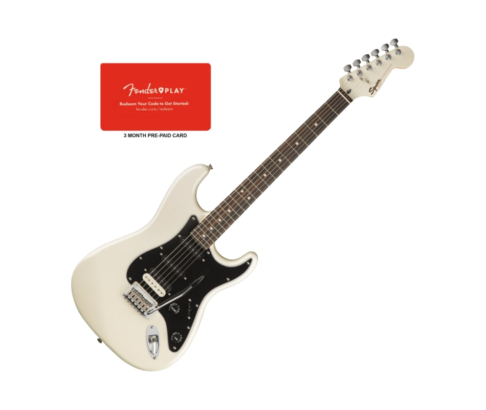 Squier Contemporary Stratocaster Pearl White HSS R