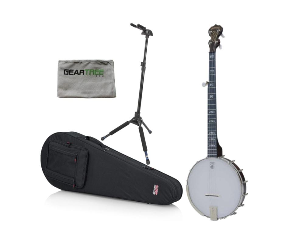 Deering AG Artisan Goodtime Openback Banjo w/ Gear