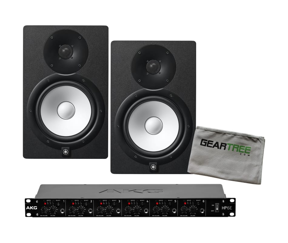 HS8 Powered Studio Monitor Pair Bundle