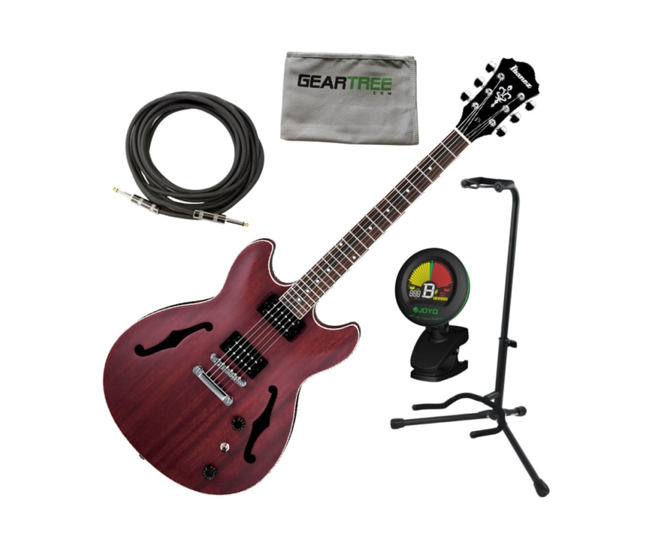 AS53 TRF AS Artcore Hollow Electric Guitar Bundle